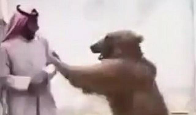 アラブの富豪がクマに襲われる.jpg