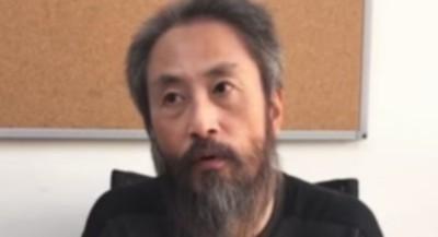 解放された安田純平氏の画像.jpg
