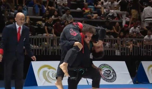 ブラジリアン柔術の凄い技