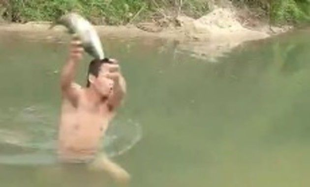 魚を獲る時に気を付けること