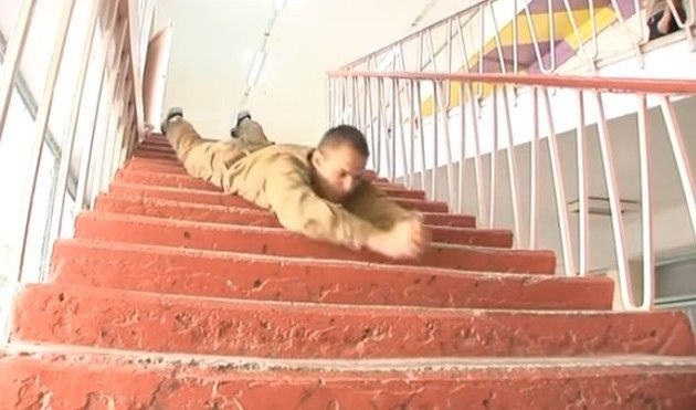 システマの階段降り