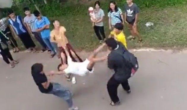 タイのおかまのダンス