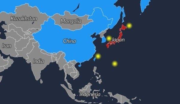 領土問題マップ