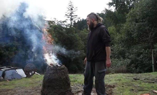 ヴァイキング流石灰の作り方