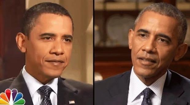 オバマの変容