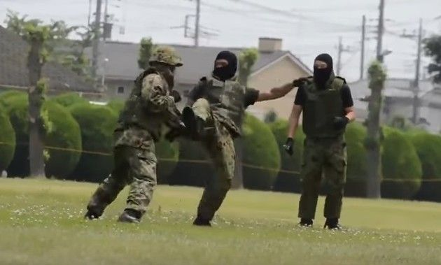 自衛隊の白兵戦