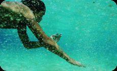 サーフィン、海中映像