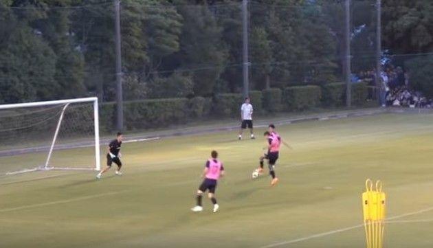 日本代表の練習風景が酷い