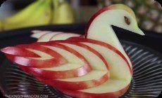 フルーツの飾り切り