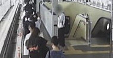 自身の映像の大阪府北部地震