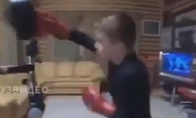 10歳のボクサーの反射神経とスピード.png