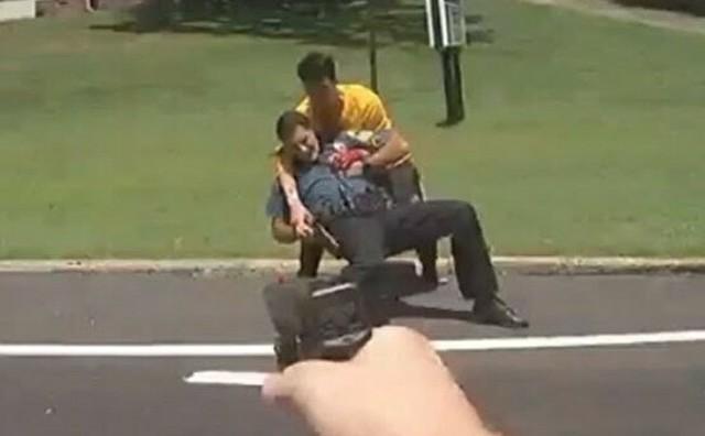 アメリカジョージア州でナイフ男を警官が射殺.jpg