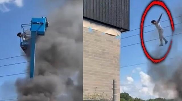 クレーン車に取り残された火事.jpg