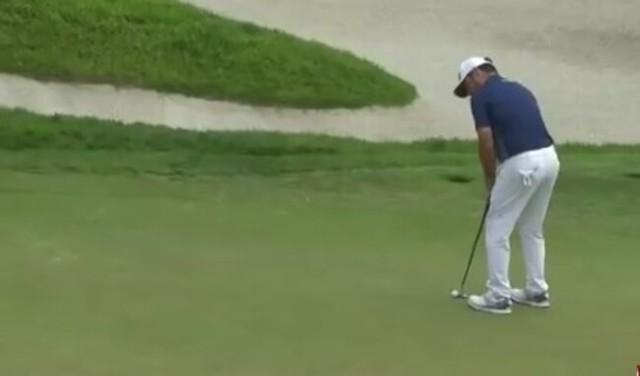 ゴルフ中継で最悪のタイミングでCM。.jpg
