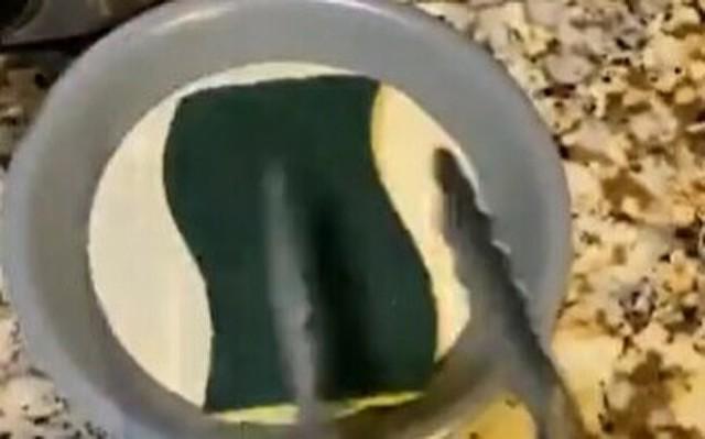 スポンジをフライにしてみたケーキ.jpg