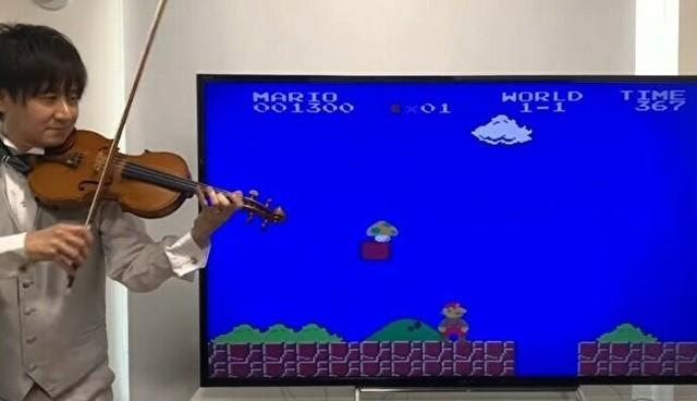 スーパーマリオの音楽をヴァイオリンで.jpg