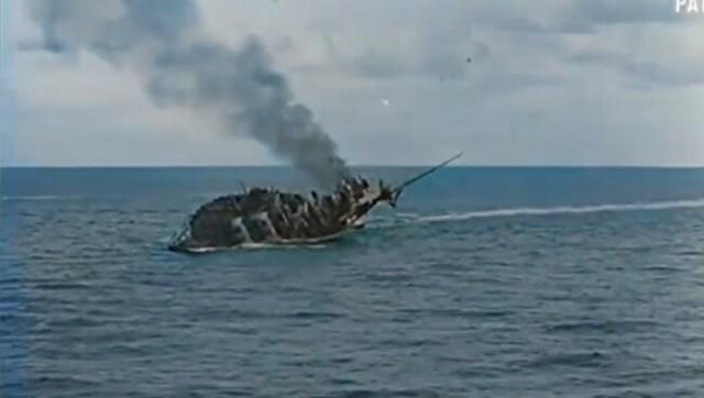 ドイツのUボートの戦果をカラー映像で.jpg