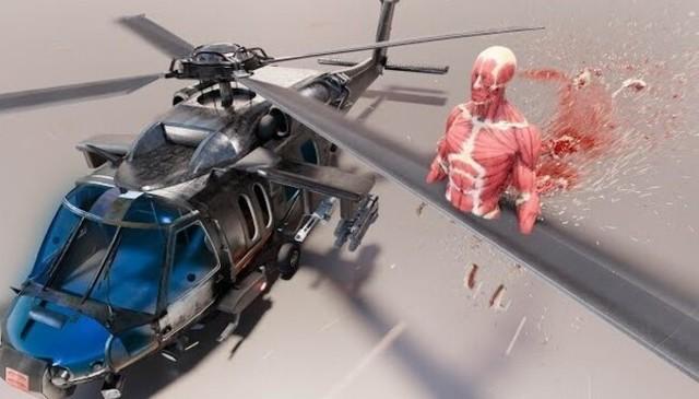 人体模型でヘリコプターのプロペラで切断と旅客機で粉々.jpg