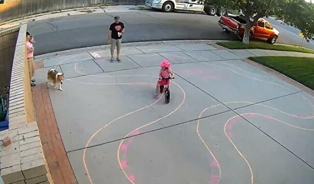 子供のライディングコースを描いてあげた人.jpg