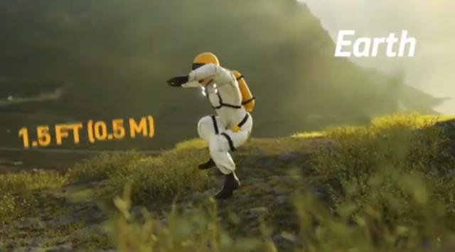 【動画】 各惑星でどれくらい高くジャンプできるのか比較した結果w!!