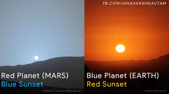 火星から見た夕陽と、地球から見た夕陽を比較.png