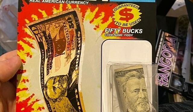 【画像】 これが本当の「現金ギフト」。叔父さんからのプレゼント!!
