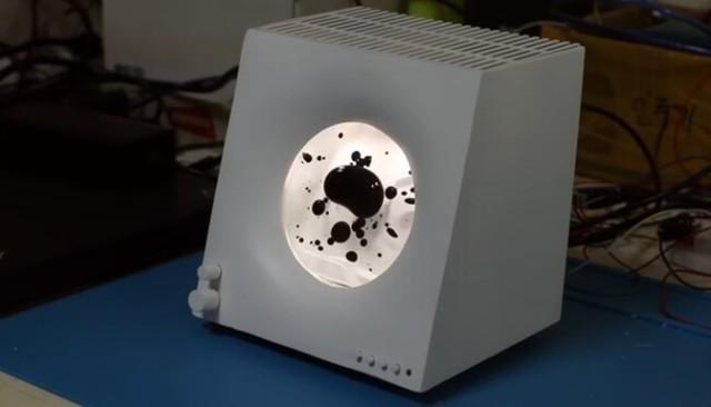 【動画】 磁性流体を使ったスピーカーでリアルなグラフィックイコライザー!!