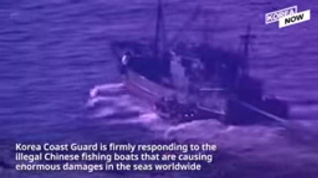 韓国の領海内で違法操業する中国船.png