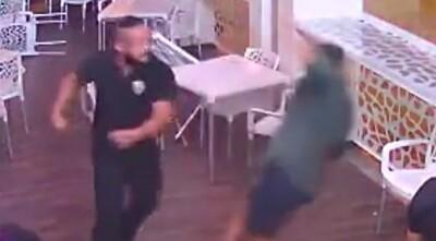 """飲み屋で """"素手だけ"""" で人を殺したDQNの喧嘩動画、ヤバすぎる.jpg"""