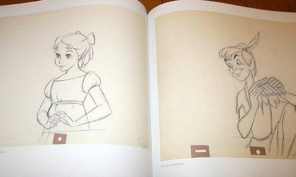 ディズニーアニメのセル画の枚数