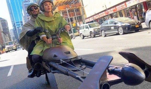 スターウォーズのスクーター