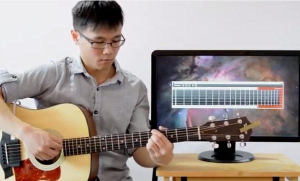 ギターを楽譜に起こしてくれるアプリ