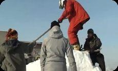 ロシア人のスキージャンプ