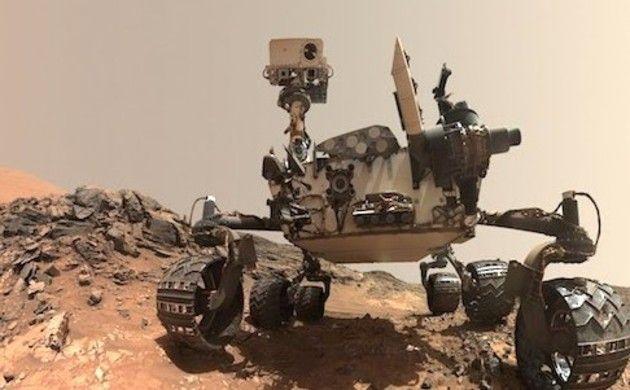 火星の映像