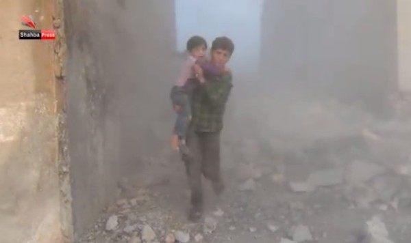 シリアの市民視点の空爆
