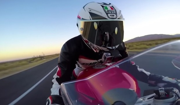 BMWバイクのスピードテスト