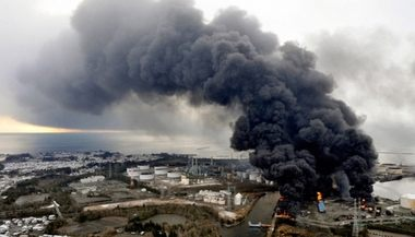 東北大震災の時の写真