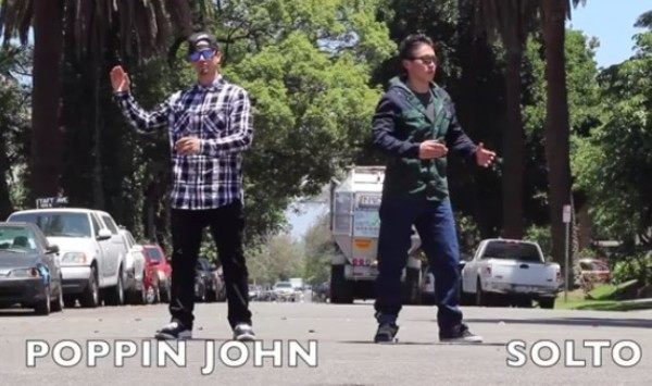 ポッピン・ジョンのダンス