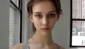すべてが完璧で綺麗な美人モデル