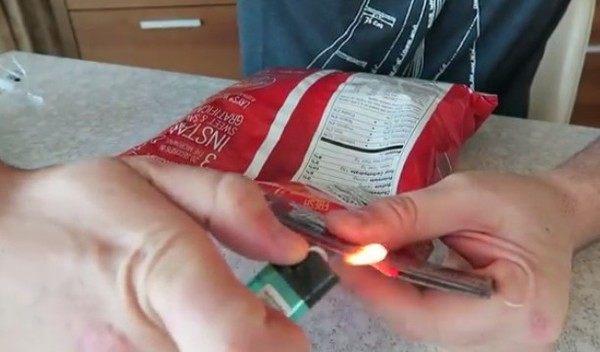 ビニールの袋を閉じる方法