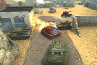 マルチプレイ戦車ゲーム