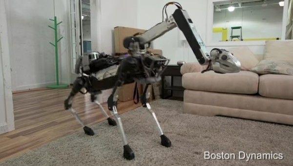 ボストンダイナミクスのペットロボット