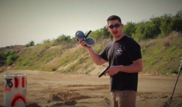 グロック拳銃をオートマチック機関銃のようにするバレット