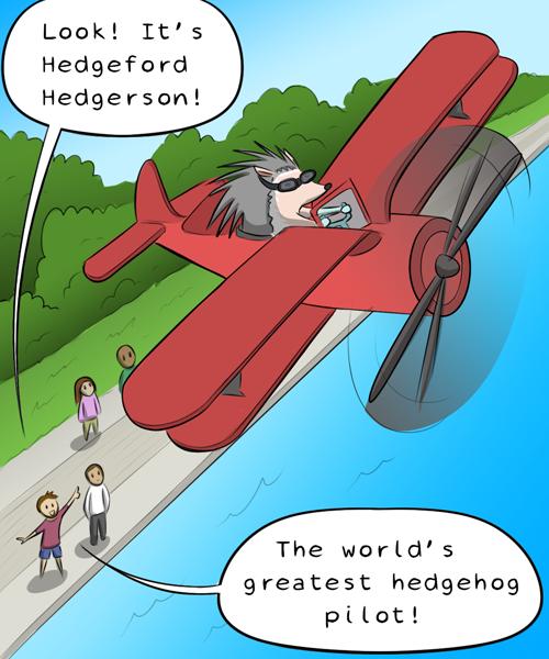 ヘッジホッグの救出 (1)