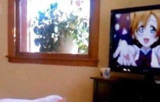 全裸でアニメを視聴するアニ豚