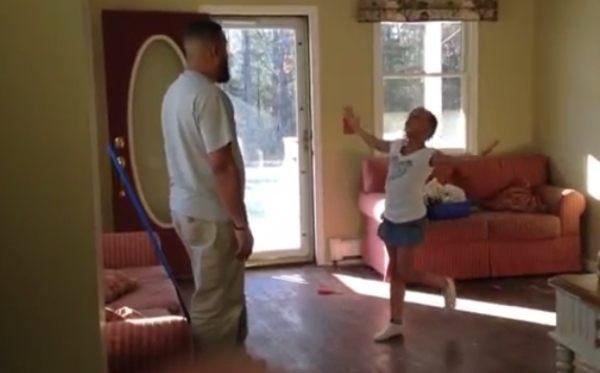 父と娘のダンスバトル