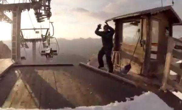 スキーヤー視点