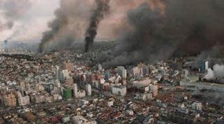 阪神淡路大震災の画像