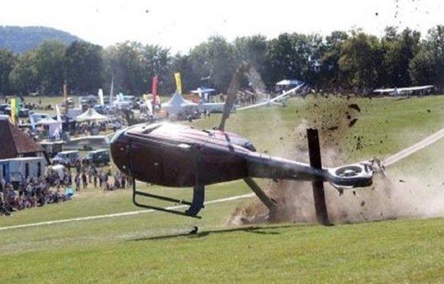 ヘリコプターの墜落特集