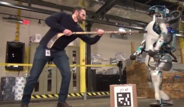 ロボットの悲劇